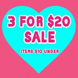 All items $10 and under